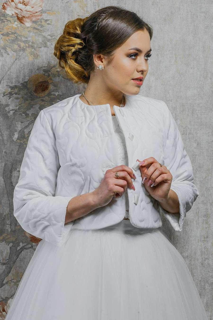 Свадебная курточка K-021