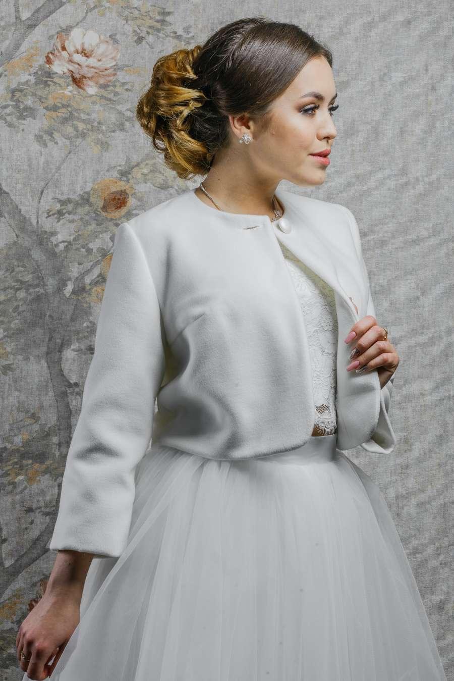 Пальто для невесты K-027